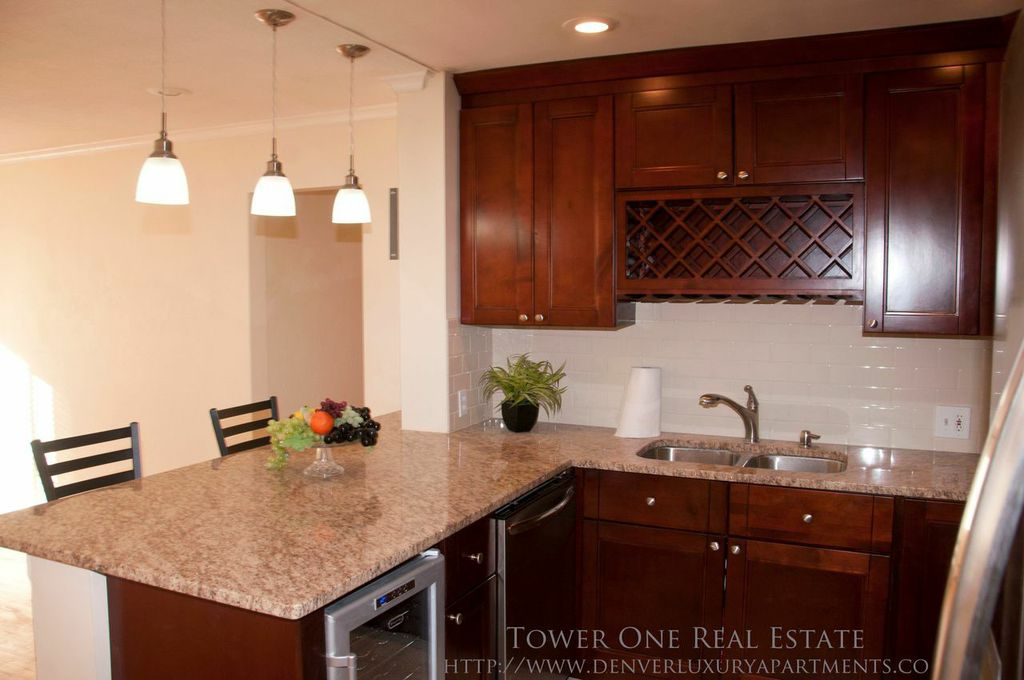 cherry creek two bedroom condo denver luxury apartments
