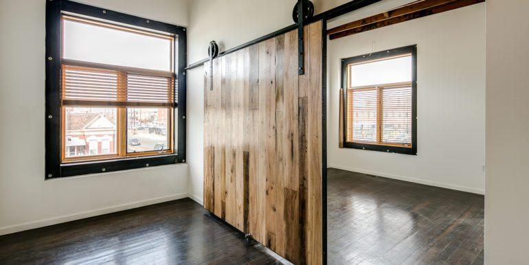 2_Second Level-Bedroom One-Barndoor Detail-2
